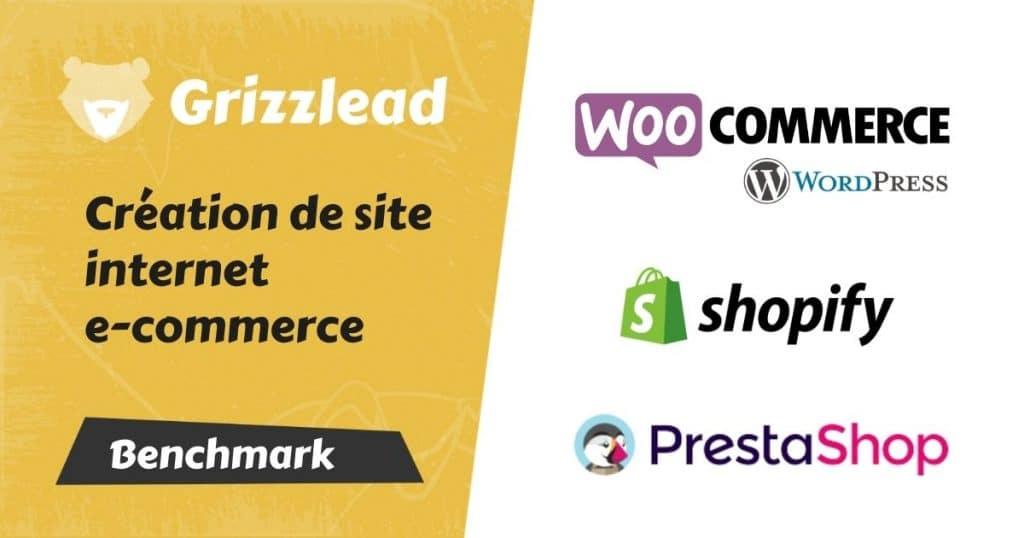 Article comparatif de Shopify vs WooCommerce vs Prestashop pour créer un site e-commerce de vente en ligne