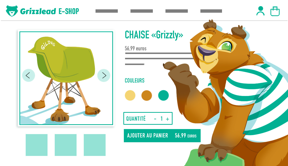 Création site internet, agence web Grizzlead