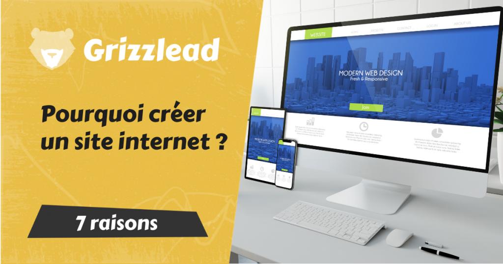 7 raisons pour lesquelles vous devez avoir un site internet