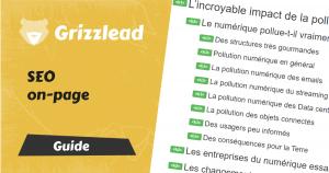 Guide sur le seo on page, optimisation des pages pour le référencement naturel