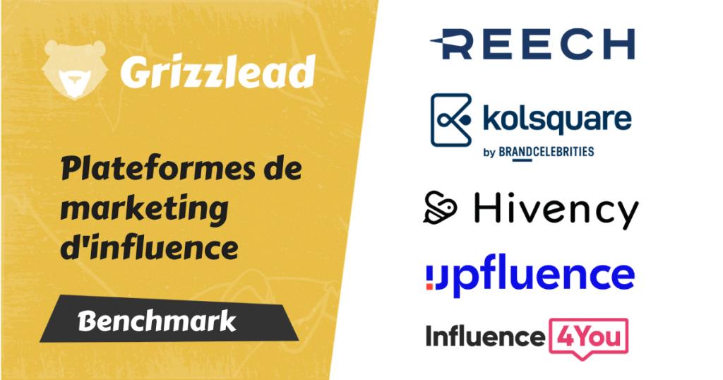 comparatifs des plateformes de marketing d'influence