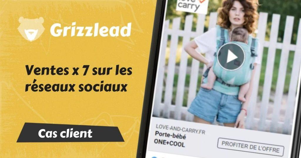Bannière blog Grizzlead Facebook Ads
