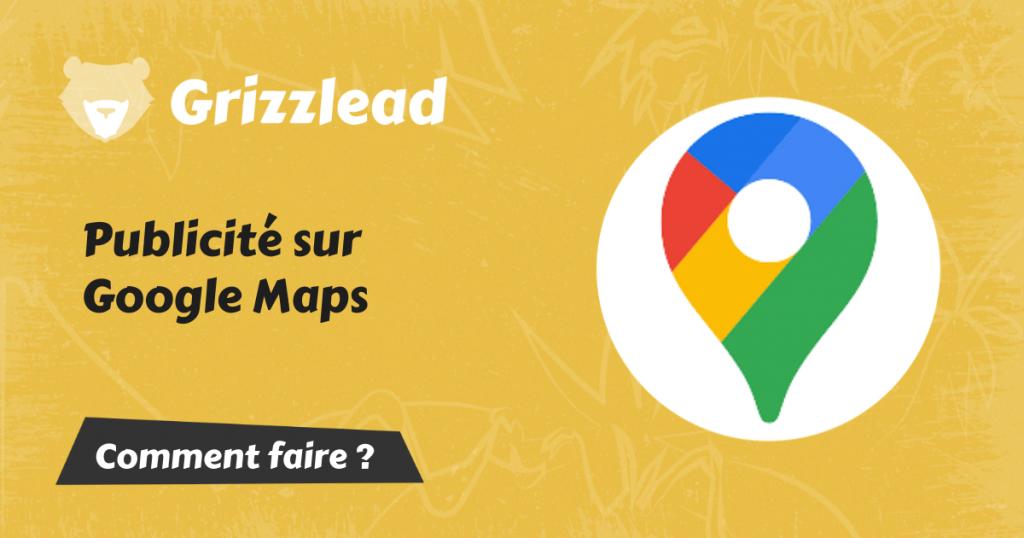 la publicité sur Google Maps