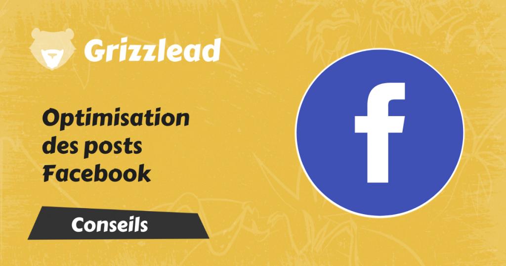 l'optimisation des publications facebook