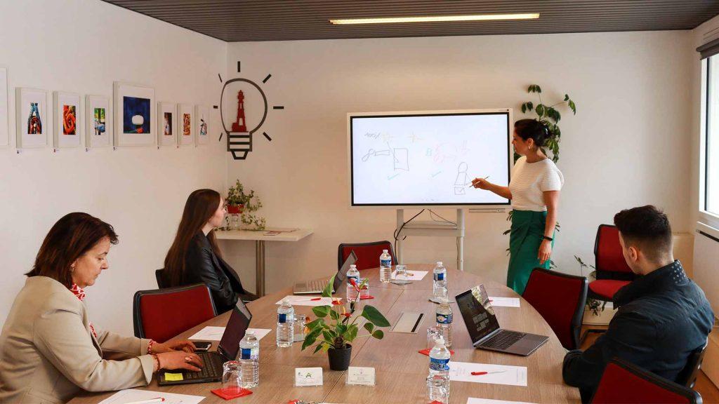 Action Connect à Auray, formation par Grizzlead