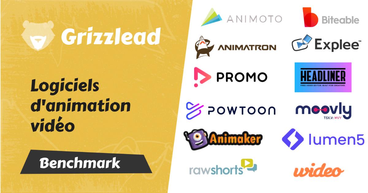 Bannière du comparatif des logiciels d'animation vidéo