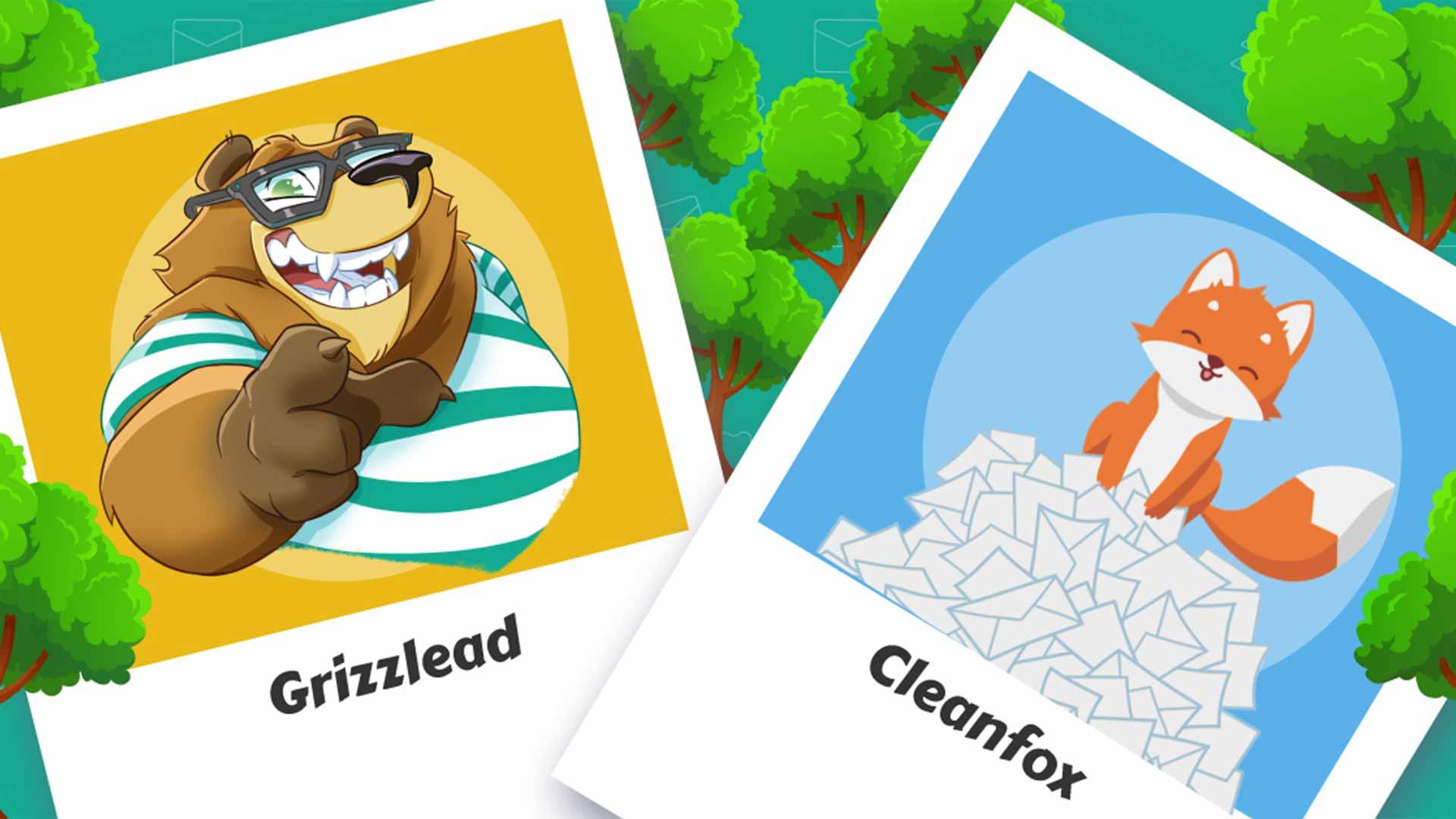 Cleanfox et Grizzlead, partenaire contre la pollution des emails