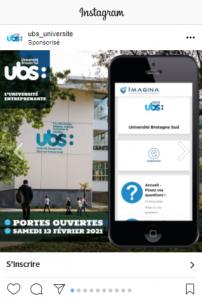 Campagne publicitaire des journées portes ouvertes de l'UBS